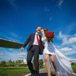 Аренда самолета на свадьбу